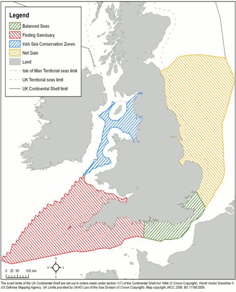 Regional MPA Project Boundaries Map